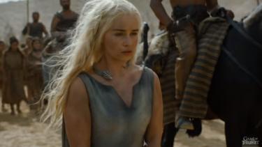 Daenerys Targaryen is a prisoner in Game of Thrones season six.