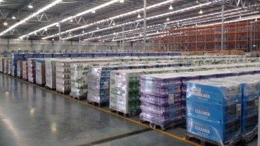 Inside Aldi's $60m distribution centre in Jandakot.