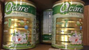 A man has been charged following a pursuit with a stolen truck, loaded with stolen baby formula in Condell Park earlier this week.