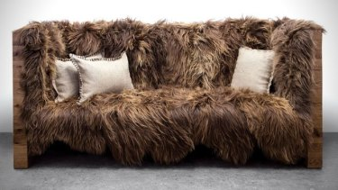 The Chewbacca sofa