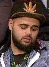 Zaky Mallah during the controversial <i>Q&A</i> episode.