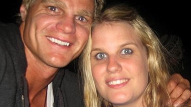 Nick and Madeleine Riewoldt.