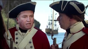 Barnaby Joyce in Huw Parkinson's 'Pirates of the Caribbean - The Canine Calamity'.