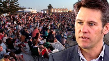 Mayor Brad Pettitt has been under fire since announcing the move to shake up Australia Day.