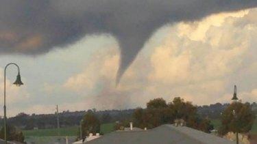 The tornado in Dubbo.