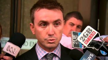James Ashby, a former staff member to Peter Slipper.