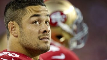 Keeping his cards close to his chest: Hayne.