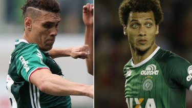Players Alan Ruschel and Helio Neto were just two of the six survivors on board the plane.