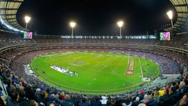 Australia's biggest sporting event: 91,513 people packed into the MCG for the second match of the 2015 series.