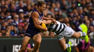 Fremantle coach Ross Lyon said his players would protect their champion midfielder.