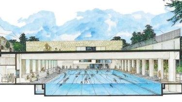 Trinity Grammar's Olympic size pool