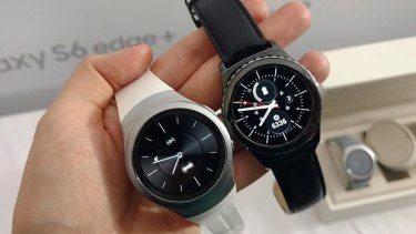 The Samsung Gear S2 and S2 Classic.