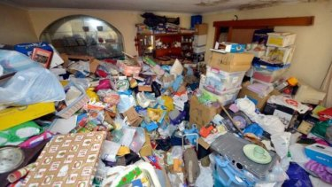 Sarah Pinheiro grew up in a house overtaken by junk.
