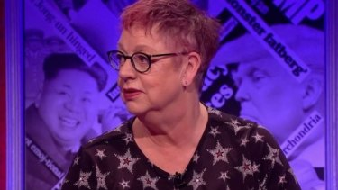 Jo Brand has earned praise for her pointed rebuttal to the show's male panellists.