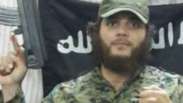 Khaled Sharrouf, an Australian Islamic State member.