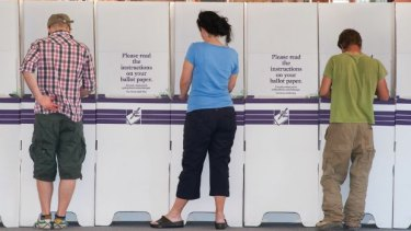 At nine of the past 13 federal, state and territory elections voters have thrown out the government.