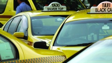 Police have charged a driver with operating an illegal taxi while on a suspended licence.