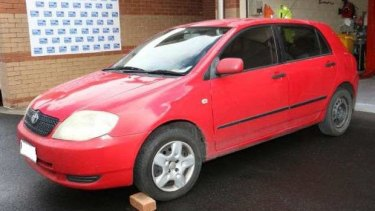 A car that police believe may be related to the disappearance of Jayde Kendall.