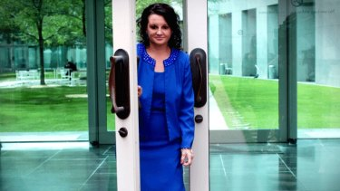 Former Palmer United Party senator Jacqui Lambie is trying to launch the Jacqui Lambie Network.