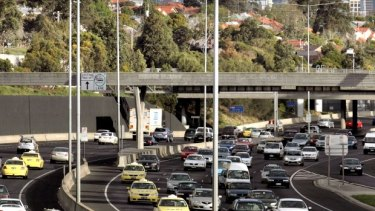 The speed limit on sections of the Tullamarine freeway will drop once widening works begin later this year.