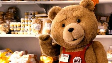 Believing this bear, the star of the <i>Ted</i> series, is a womanising, weed-chuffer, is easier than swallowing eBay's claims.