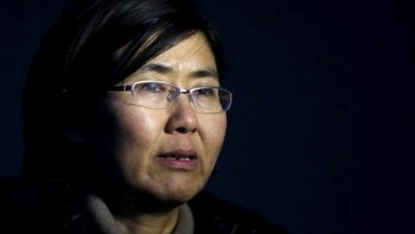 Human rights lawyer Wang Yu.