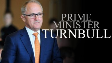 Malcolm Turnbull is now PM.