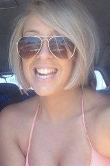 Spent the summer recovering: Kalynda Davis.
