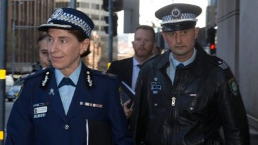 NSW Police Deputy Commissioner Catherine Burn appears at the Lindt cafe siege inquest on Monday.