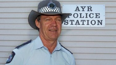 Senior Sergeant Mick Isles before his disappearance.