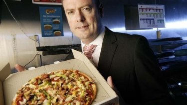 Time to cough up the dough: Domino's Pizza CEO Don Meij.