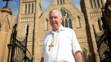 Former Rockhampton Bishop Brian Heenan.