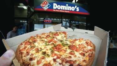 Can't keep it down: Domino's shares are back on the rise.