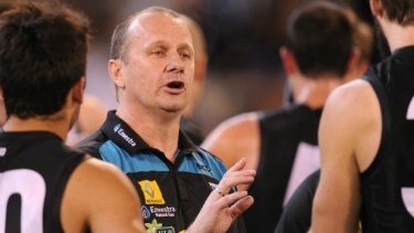 Overseas adventure: Port Adelaide coach Ken Hinkley believes playing a game in China won't have a negative effect on his team.