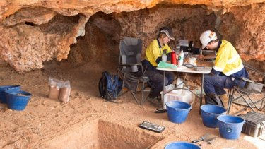 The find puts human occupation in Australia to 50,000 years ago
