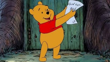 Winnie the Pooh has fallen foul of the Chinese Government's internet firewall.