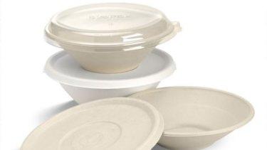 BioPak's sugarcane bowls