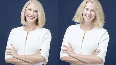 With and without warpaint: Tracey Spicer stripped bare.