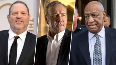 Harvey Weinstein, Kevin Spacey and Bill Cosby have all been accused of sexual abuse recently.