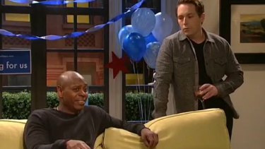 Dave Chappelle's Election Party sketch on SNL.