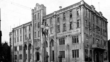 An historical image of the Princess Mary Club.