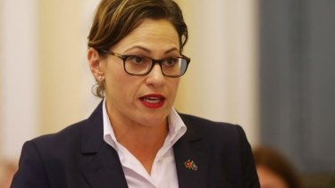 Deputy Premier and Transport Minister Jackie Trad said Queensland Rail was getting back on track.