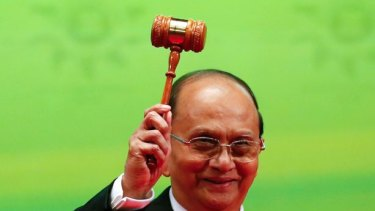 Myanmar's current constitution, drafted by a body appointed by the military that included Thein Sein, was subsequently adopted at a corrupted referendum.