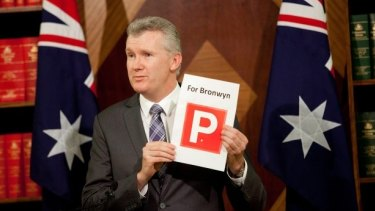 Labor's Tony Burke, who led the opposition's successful pursuit of Mrs Bishop over her expenses, is facing questions over his own use of entitlements.