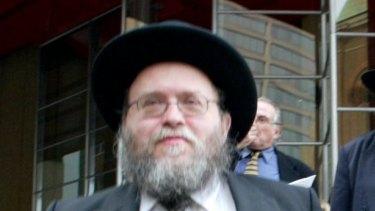 Rabbi Pinchus Feldman.