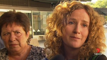 Rebekka Meyer's mother Mikala Liemann, left, and sister Tania Jensen hope the inquest into the young Danish cyclist's death will bring them some answers.
