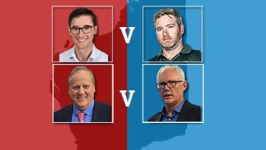 Key seats of the WA election