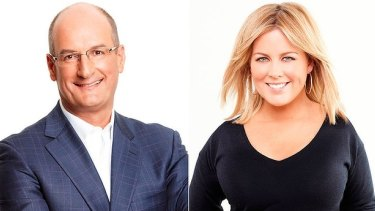 <i>Sunrise</i> hosts David Koch and Samantha Armytage are on track to win 2017.