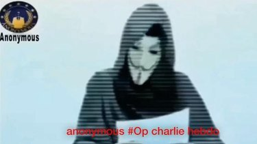 """""""We are Anonymous, we do not forgive, we will not forget, fear us, expect us murderer"""": the hacktivist group's chilling message for jihadists."""
