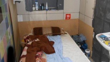 In 2015, a City of Sydney investigation found a bed in a bathroom of an illegal accommodation in the CBD.